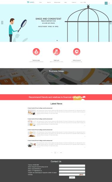 外贸英文网站SAAS模板-外贸英文网站SASS设计