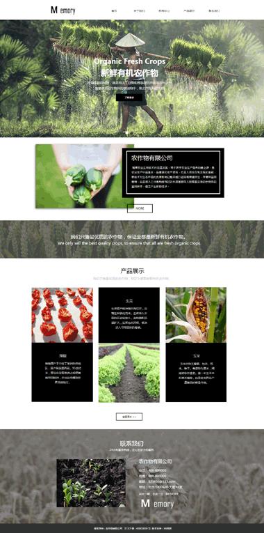 网站备案咨询-农作物种植网站建设-网站SEO