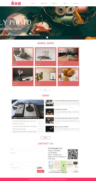 静物摄影网站模板-静物摄影图片素材-静物摄影SEO优化(英文)